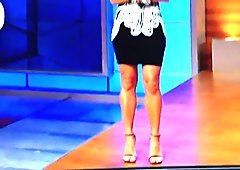 Cumming to Molly Mcgraths Sexy Legs