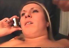 Blonde German Wife Really Loves Facials part2