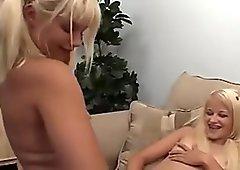 Milton Twins In A Blonde Lesbian Threesome