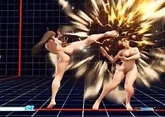 Naked Chun Li Mod