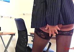 emma butt secretary tease