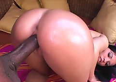 Rebeca Linares Loves Big Black Cock