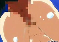 Kitchen anal penetration
