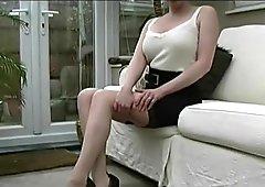 Hot Milf talks about mens fetish for women wearing elegant sexual stiletto heels