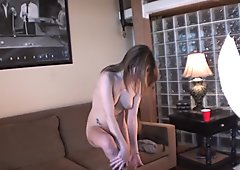 Pretty Mexican Girl Gets Naked for Her First time Video in Des Moines Iowa