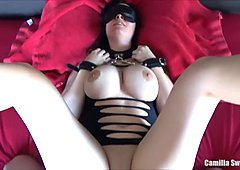 Kinky POV Sex With a Busty Girl And Mouth Filled With Creampie In a Glass