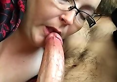 gorgeous wife loves sucking my big cock and making me cum