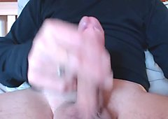 My solo 41 (Edging cock till I spurt cum from aching balls).mp4