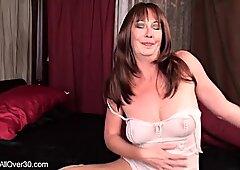 Stimulation Of Mature Pussy