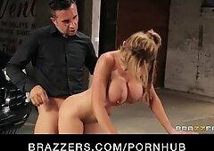 Sexy lingerie dressed Nikki Benz enjoys to roleplay & be predominated