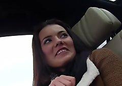 Euro Teen Vanessa rides a stranger cock