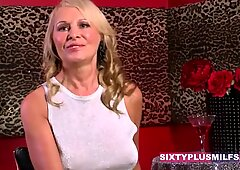 Mature blondes get fucked
