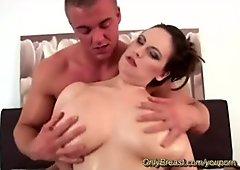 massive oiled monster boobs