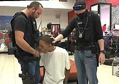 警察ゲイセックス映画強盗容疑者容疑者