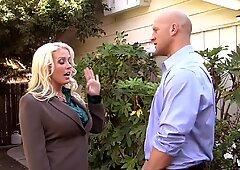 Bossy Hot MILF Bitch Alura Jenson Makes a Dirty Deal