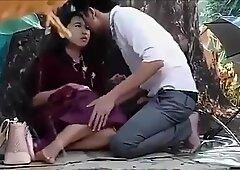 Tajki pary w Plenerze