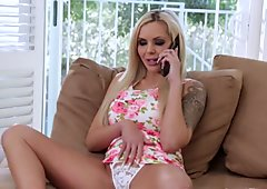 Inked glam stepmom dickriding teen stepson