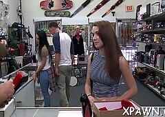 A lot of joy goes on as there'_s some sex in shop