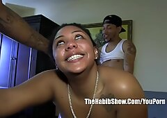 ladybug takes all their salivia in her mouth she a real threesome freak