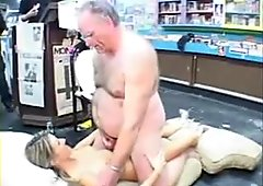 Jane fucked by geezer old man